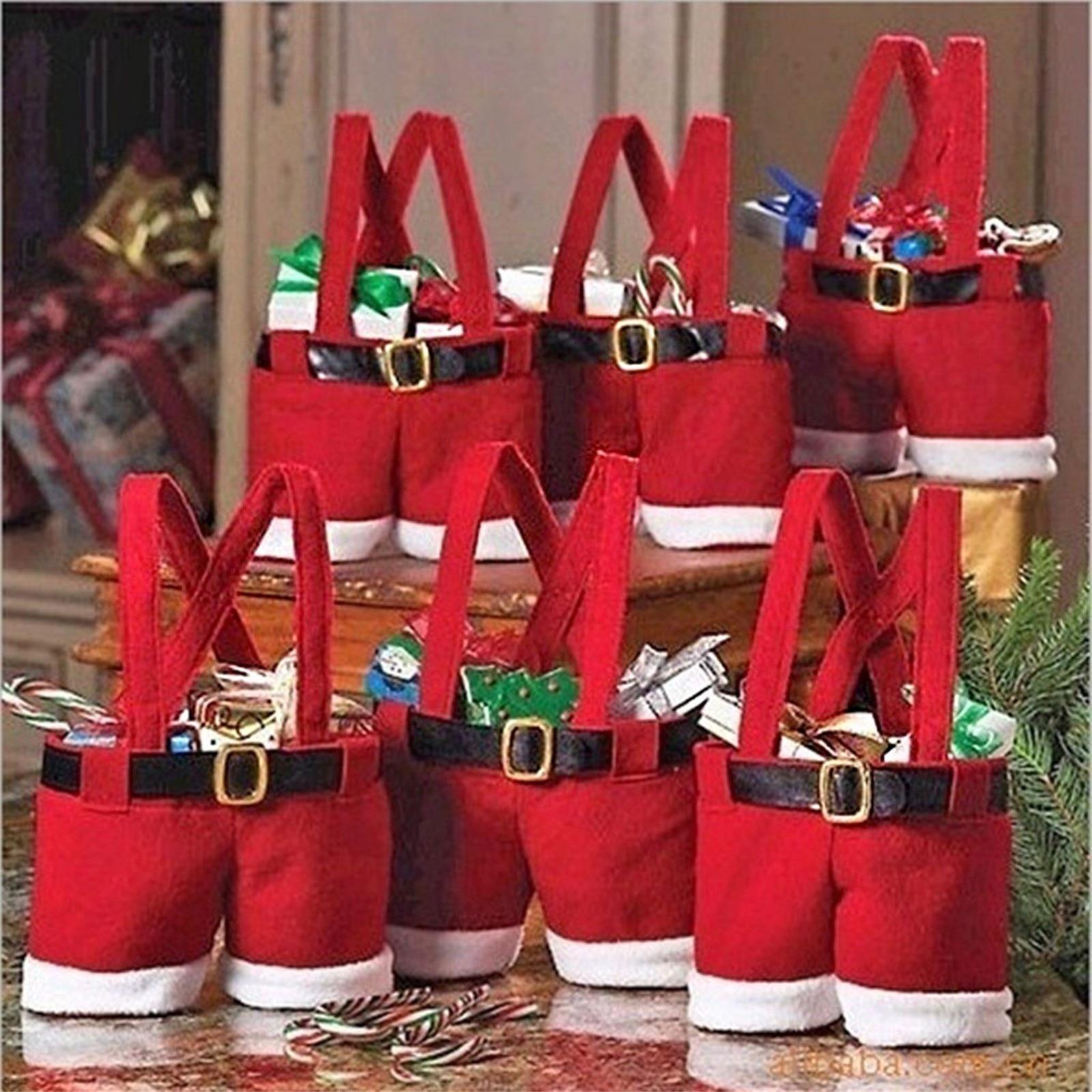 Bolsa De regalo De Navidad, bolsa De dulces De boda, Adornos De...