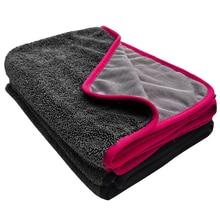 650GSM Twist Braid Thick Plush Microfiber Towel Car Wash Clean Cloths Microfibre Wax Polishing Detailing Towel Absorbent