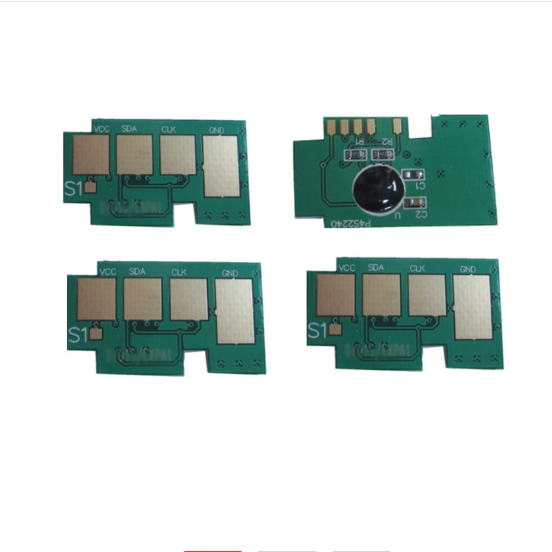 4x CLT-K504S CLT-C504S CLT-Y504S CLT-M504S Chip de Toner para Samsung CLP-415N CLP-415NW CLX-4195FW CLX-4195FN CLX-4195N SL-C1860FW