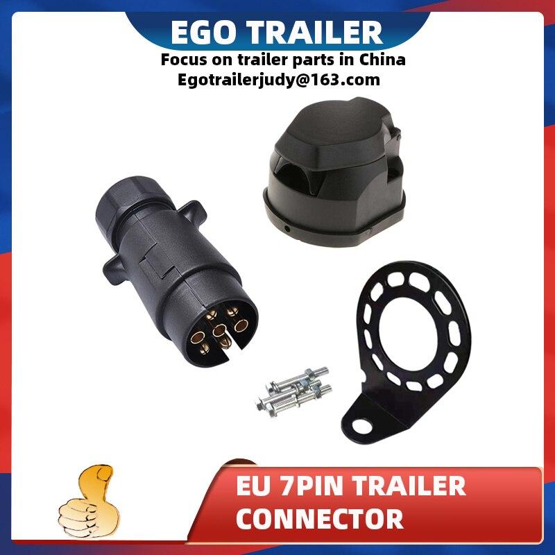 7-контактный пластиковый мужской plugsocketfemale plugtrailer соединитель кронштейны Караван Трейлер части лодки трейлер части