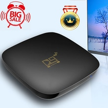 Android 10 Smart TV Box D9 HD 4K 1080P H.265 Quad Core Media Player 2.4G 5GHz Wifi For Smart TV Box