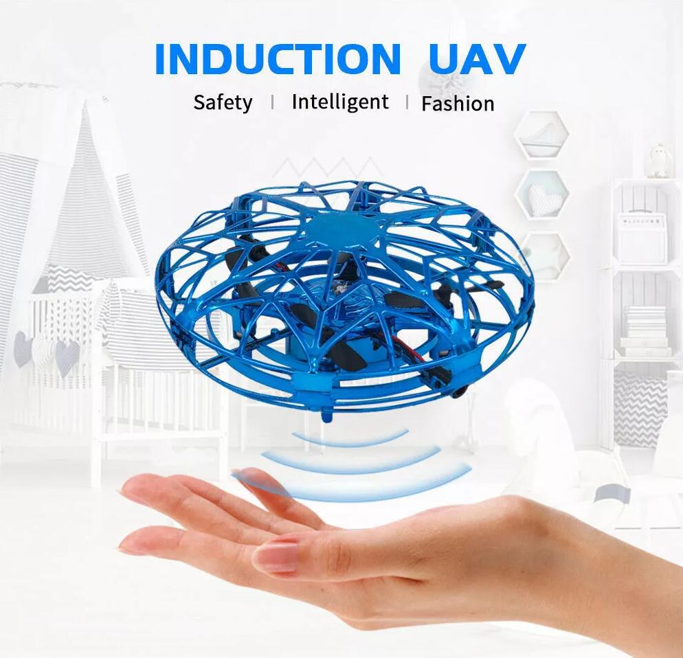 Hand Operated Drone for Kids Adults - Hands Free Mini Drones for Kids, Easy Indoor Hand Drone, Flying Ball Drone Toys enlarge