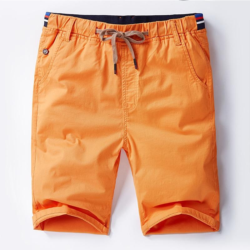 Summer New Trousers Men's Knee Length Pants High Quality Cotton Pants Drect Sell Extra Large Super Big Plus Size L-6XL 7XL