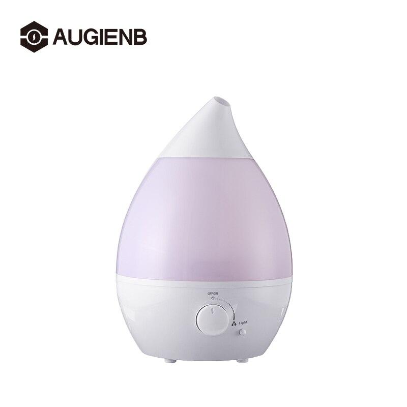 3.4L 25W difusor de aceite esencial humidificador ultrasónico purificador de aire 7 cambio de Color LED luz hogar Luz aire acondicionado dispositivo