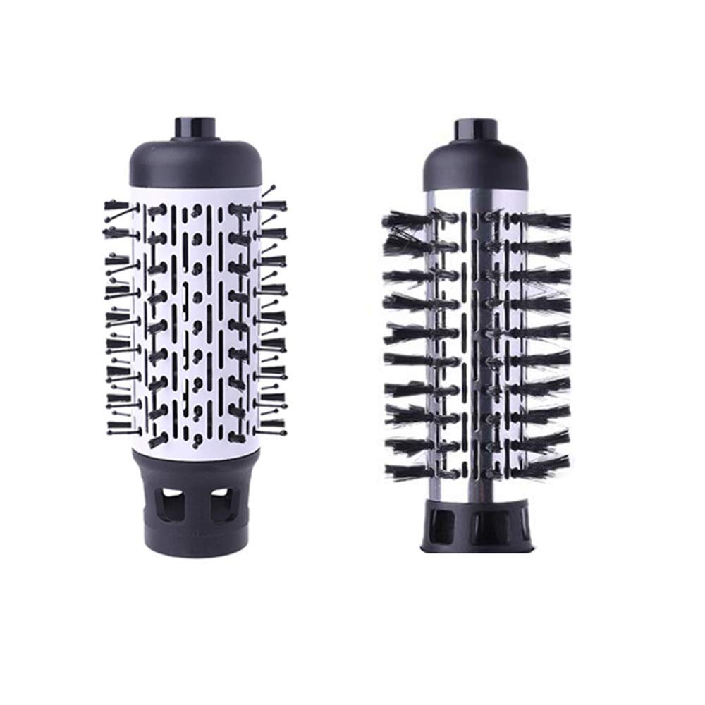 Hot Air Spin Brush for Styling and Frizz Control Auto rotating Curling Negative Ionic Hair Curler Dryer Brush 1 1/2 Inch enlarge