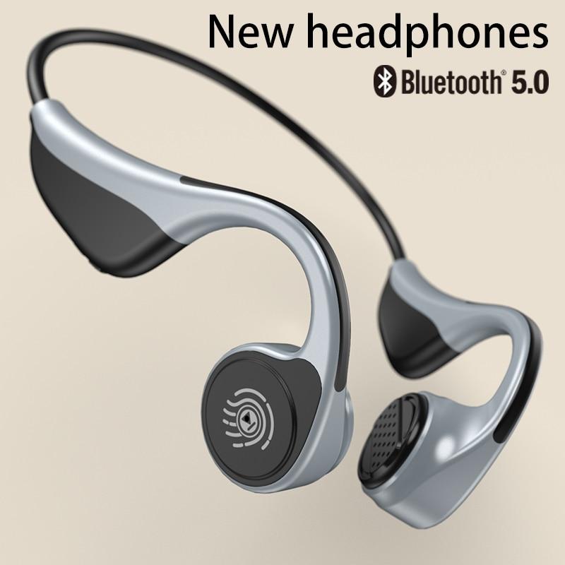 For Xiaomi Huawei  Wireless Earphone Bone Conduction Bluetooth 5.0 Headphones Sports Stereo Long Standby Waterproof Headsets