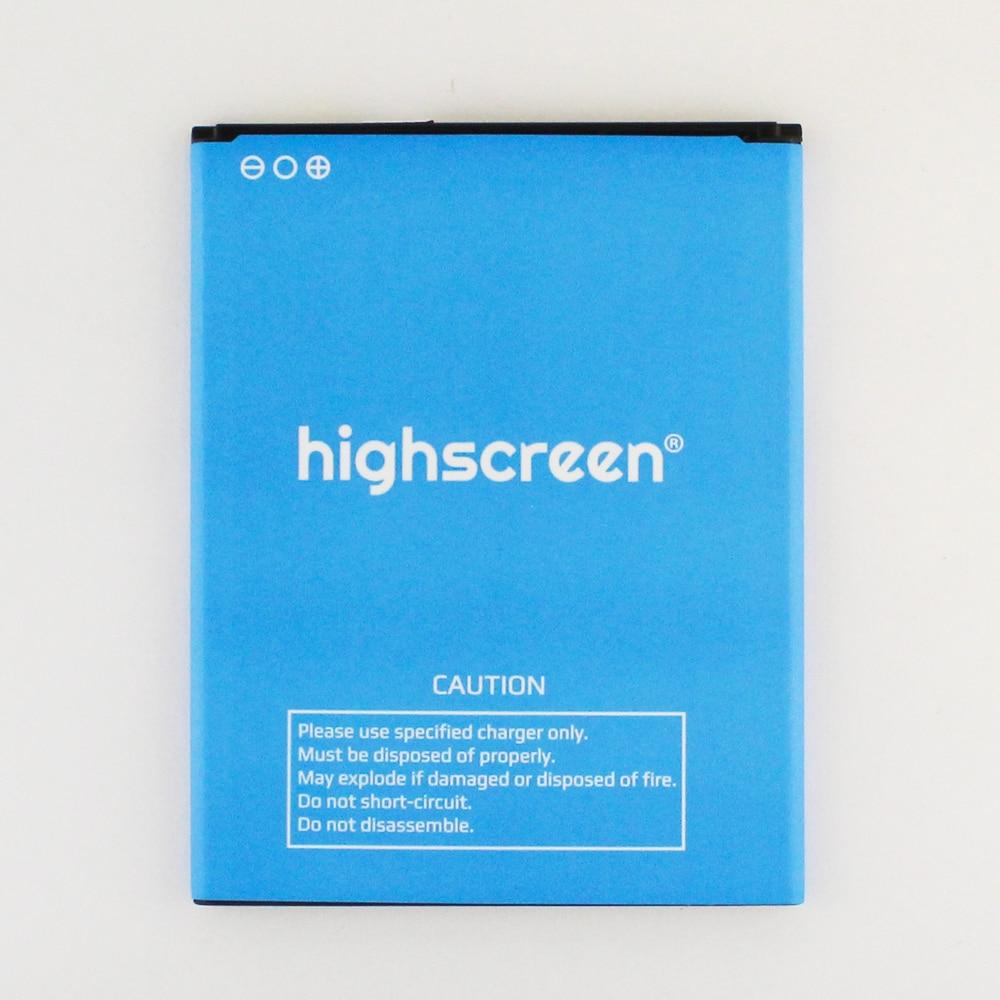 Batería Para Highscreen Easy S/Pro 2200mah reemplazo de batería de teléfono móvil de alta calidad capacidad completa 2200mah