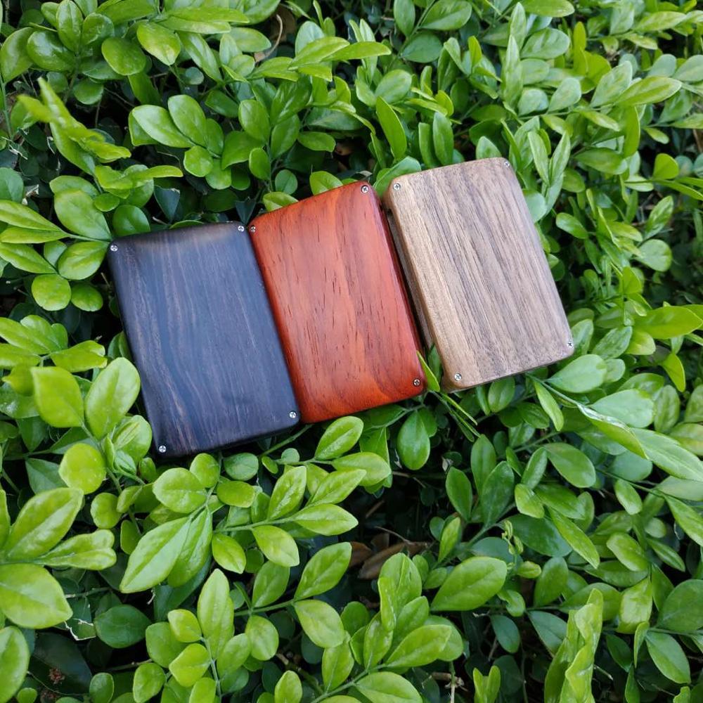 Carcasa de madera para Volvo 2015-2019 XC90 S90 V90 2018 XC60, carcasa de Control remoto de coche de repuesto de madera reacondicionada (solo carcasa)