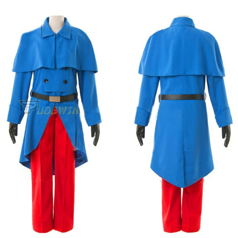 Hetalia APH Francia Francis Bonnefeuille militar disfraces, uniformes Cosplay