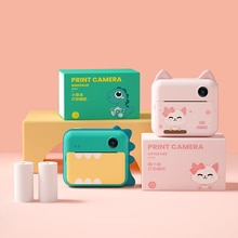 Cute Children Camera Educational Toys For Baby Gift Mini Digital Cam 12MP Projection Video Camera Wi