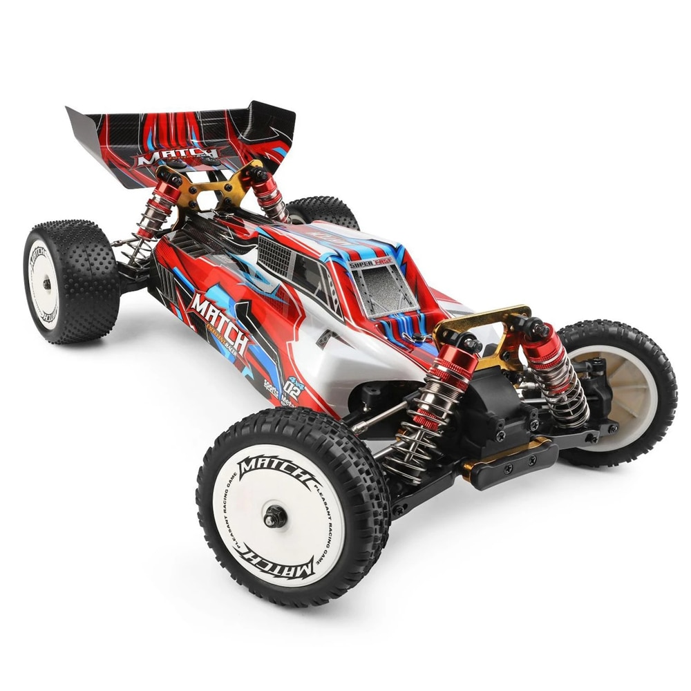 Professional 1:10 Racing RC Car 2.4G 4WD Off-Road Drift 60Km/h Metal Chassis Formula Radio Remote Control Toys for Children Gift enlarge