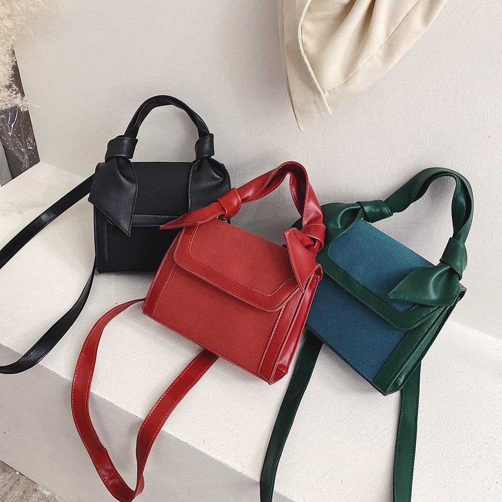 Bolso de mano de Otoño e Invierno para mujer, bolso de mensajero rojo de Red a la moda, bolso de hombro combinable YUBAI