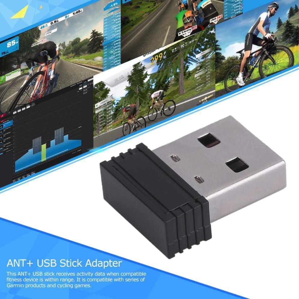 Adaptador de tamaño Mini Dongle USB Stick para ANT, unidad USB potente para Garmin Forerunner 310XT 405 410 610 60 70 910XT GPS