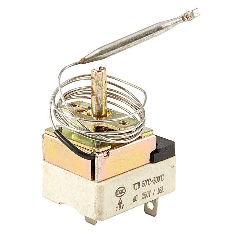 Termostato capilar GTBL CA 250V 16A 3 terminales sin Control NC 50-300C