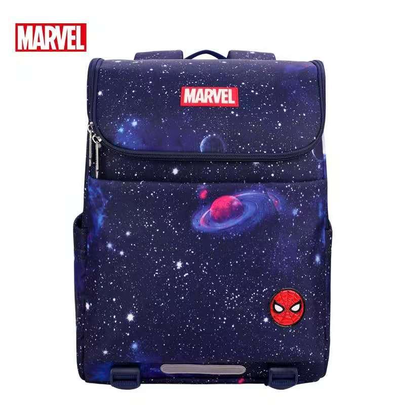 Disney 2021 New Marvel School Bags for Boys Primary Student Backpack Spider Man Captain America Shoulder Bags Mochila Escolar