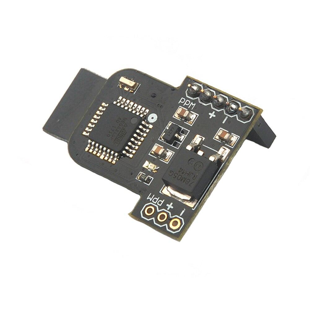 Piezas de módulo profesional MTX9D accesorios fáciles de aplicar componentes de transmisor Mini juguete MTX multiprotocolo negro para Frsky X9D