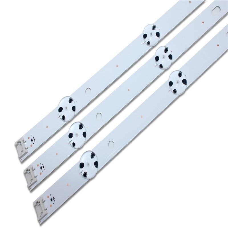6 قطعة 8LED 850 مللي متر LED الخلفية قطاع ل LG 43UH6030 43UF640 HC430DGN-SLNX1 UF64_UHD_A 43LH60FHD EAV63192501