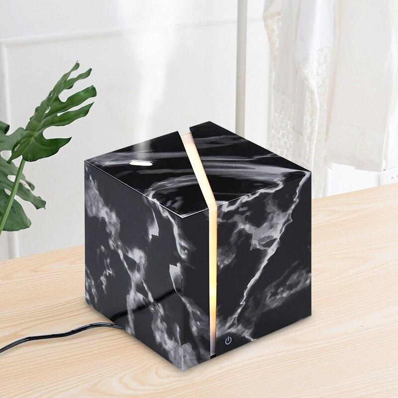Humidificador de aire ultrasónico, difusor de aceites esenciales para aromaterapia, para oficina, hogar, dormitorio, sala de estar, estudio, Yoga, 200Ml