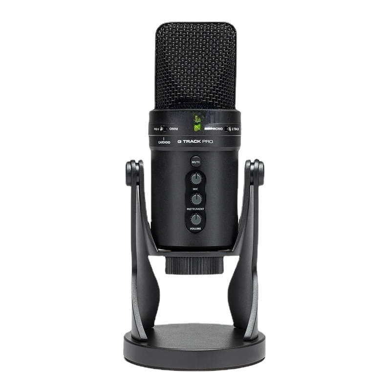 Pro Studio  USB Professional Microphone with Audio Interface Podcast Streaming Singing Condenser Tablet Recording