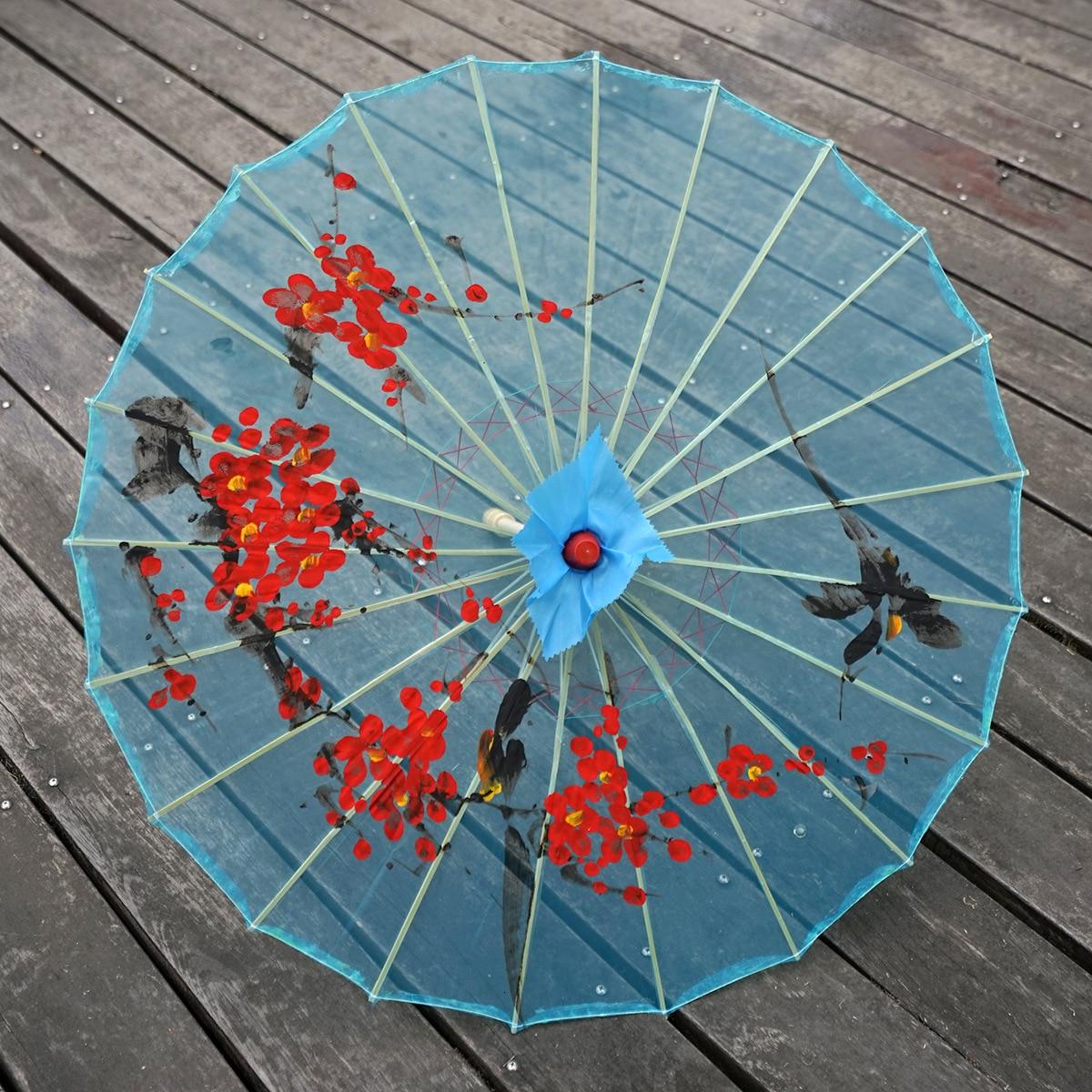 Paraguas de papel aceitado paraguas antiguo paraguas clásico accesorio de fotografía de...