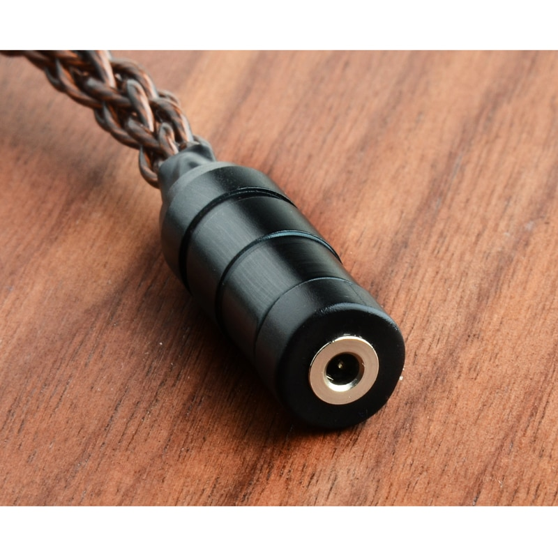 High-end Custom headphone wrie For sony Conversion cable voor IE80 IE80S 100% high purity single crystal copper cable enlarge