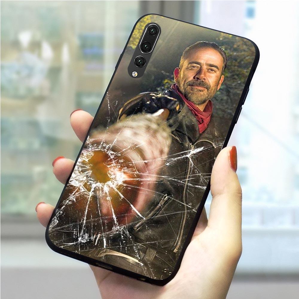 Fashion Negan Walking Dead Phone Cover for Huawei P8 Lite 2017 Case Mate 10 20 PRO P9 Lite mini P10 Lite P20 P30 Pro P Smart