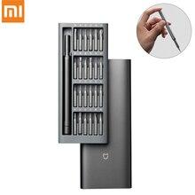 Original Xiaomi Mijia tournevis 24 en 1 Kit de précision embouts magnétiques bricolage tournevis utilisation quotidienne outils de réparation pour la maison intelligente