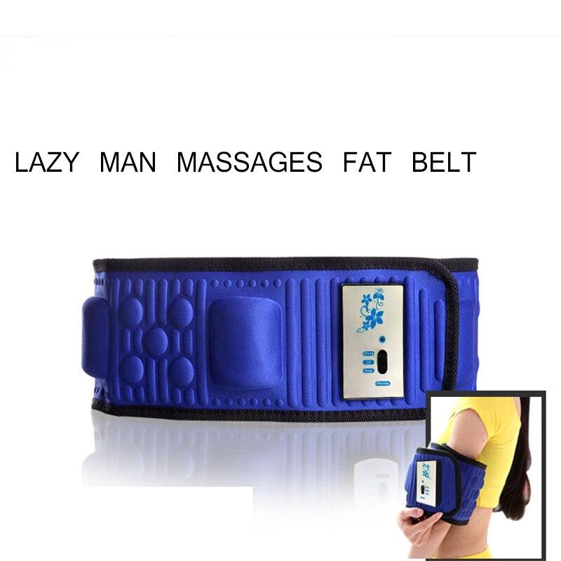 Elétrica Emagrecimento Cinto Perder Peso Fitness Massagem x5 Vezes Balançar Vibração Abdominal Barriga Muscular Cintura Trainer Stimula