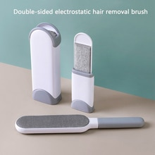 Lint Remover Dusting Static Brush Clothes Hair Brush Anti-static Double-Side Home Furniture Sofa Clo