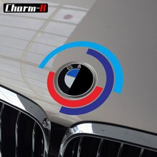 Car Hood Bonnet Logo Emblem Decal Stickers for BMW e60 e90 e36 e46 e39 X5 E53 e70 f30 f10 f20 g30 g20 g01 x3 x6 z4 accessories