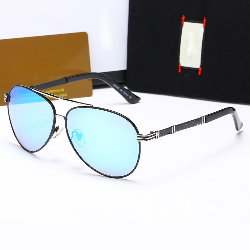 New Fashion Trendy Men's Sunglasses UA400 Luxury Shades Made of Top Materials Ladies Sunglasses Outd