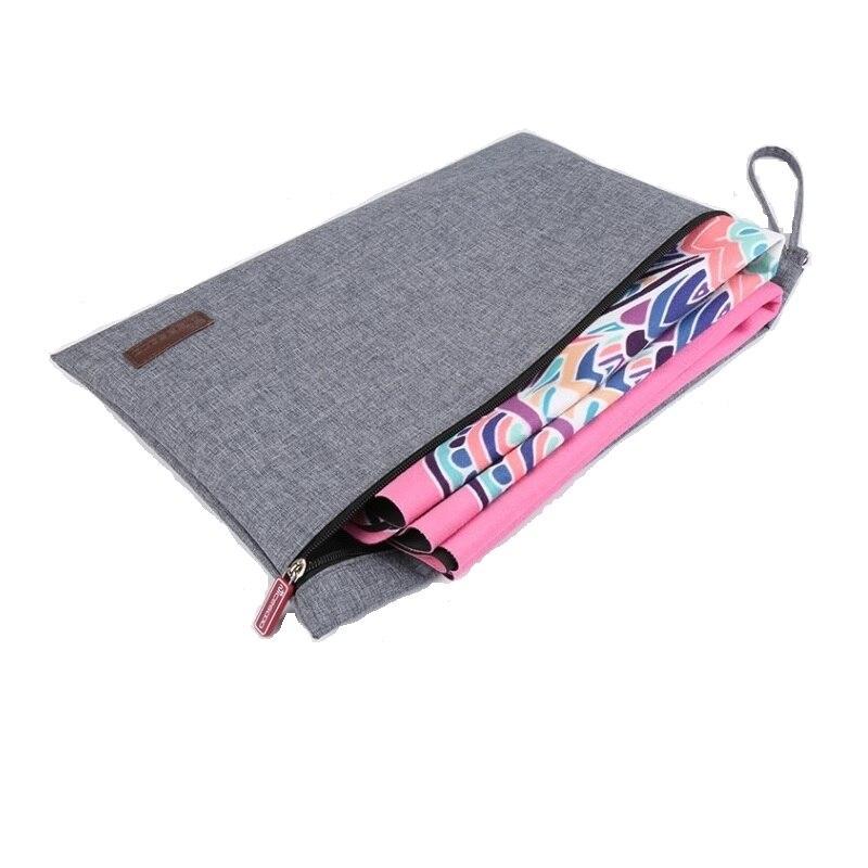 Bolsa de Toalha de Yoga Multifunction Dobrável Yoga Esteira Bolsa Ginásio Pilates Cobertor Não Incluindo