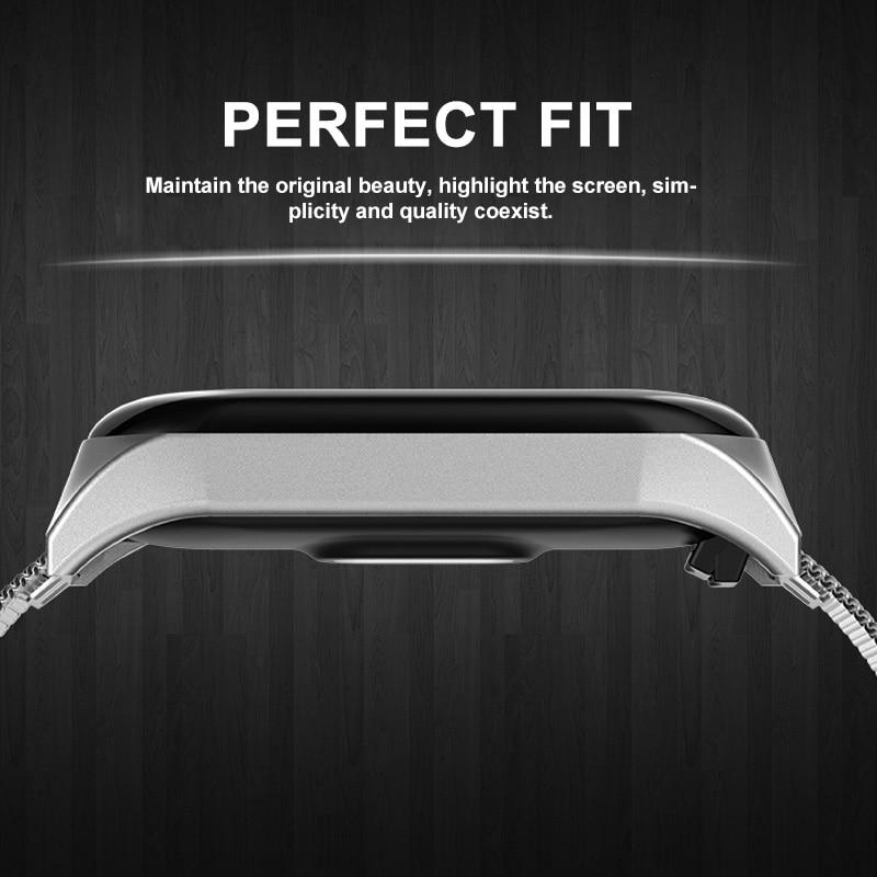 iONCT Metal Bracelet Strap For XiaoMi Mi Band 4 5 Strap Smart Watch Band Mi Band 3 Strap Bracelet Pulseira Miband 4 3 5 Strap