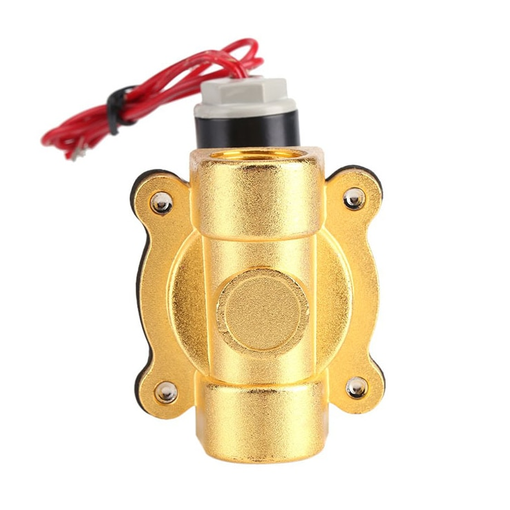 Direct selling 2Inch Air Compressor Spare Parts  Water Mini Electric Solenoid Valve 220V AC enlarge
