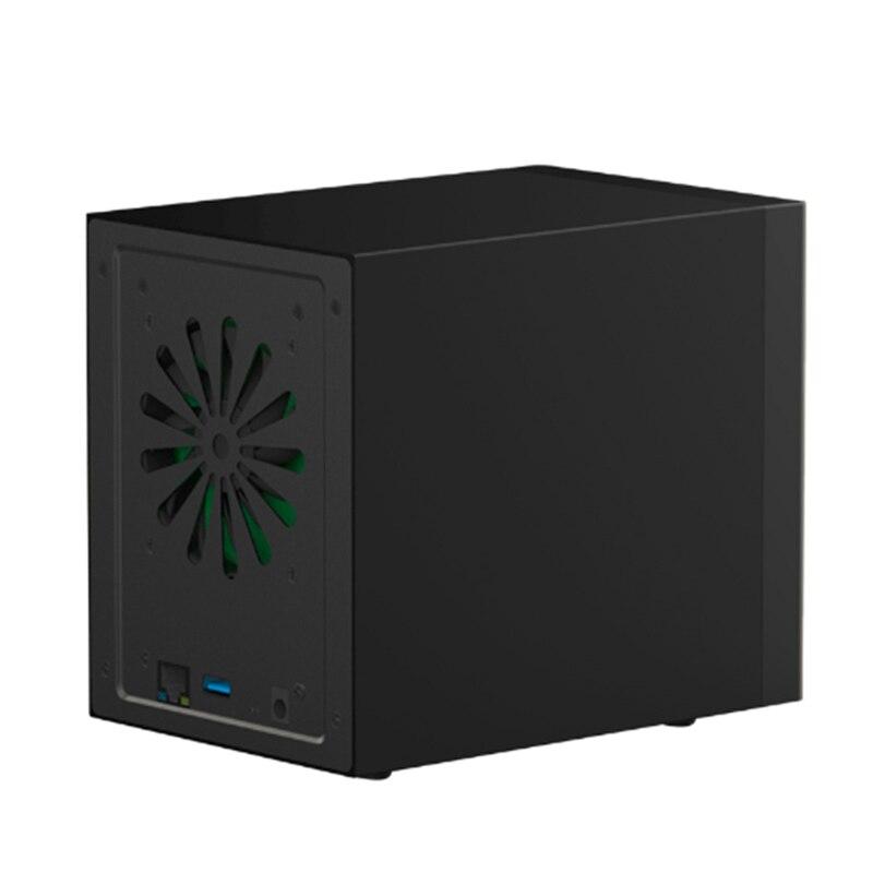 Blueendless 3,5 Gigabit Ethernet recinto Nas Hdd Smart Hdd funda para disco duro de 3,5 pulgadas interfaz Gigabit Ethernet Nas remoto