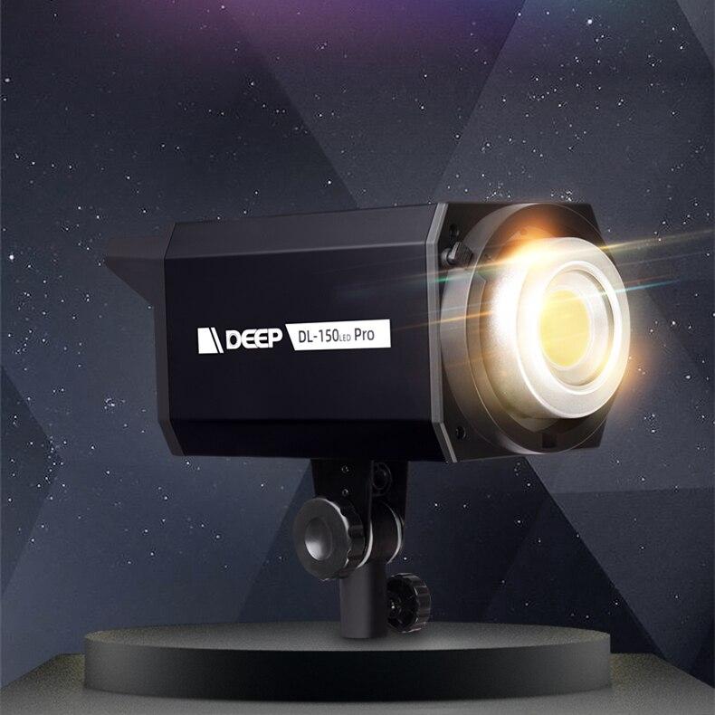 التصوير الفوتوغرافي 150 واط صور ستوديو COB LED الفيديو الضوئي 5600K ضوء النهار عكس الضوء التركيز CRI 97 TLCI 97 18500Lux بونز جبل