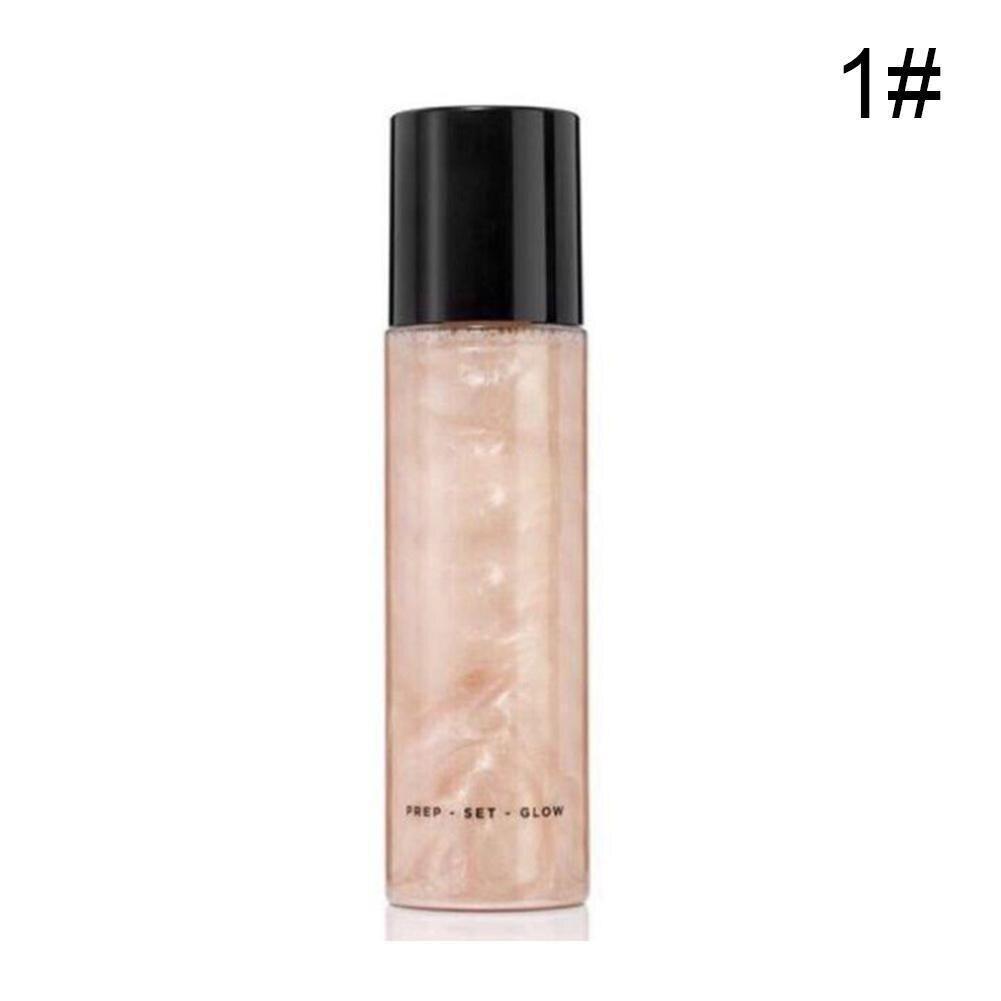 Bronzer Highlighter Liquid Setting Spray Illuminating Long-lasting Face Face Makeup Face Highlighter Shimmer Glow Brighten B2T2 недорого