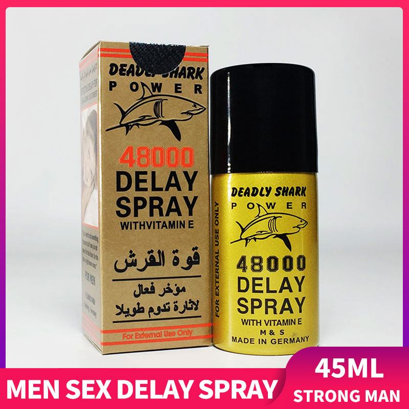 Sex Delay Oil Spray 45ml Powerful Long Lasting Sex Spray for Penis for Man Prevent Premature Ejacula