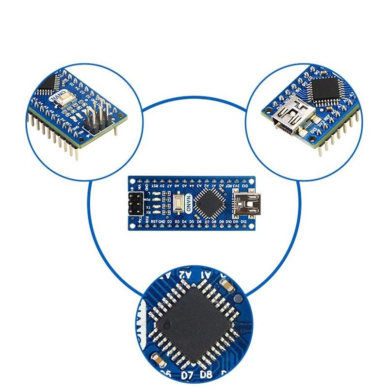 Nano V3.1 совместимый с Arduino V3.0 IDE Mini Type B Board LGT8F328P 3,0 контроллер