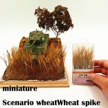 Miniatur Szenario weizen Weizen spike Szene Modellierung Materialien DIY Sand Tabelle Material