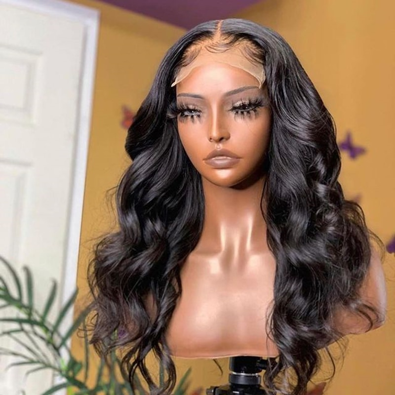 Royal Hair Natural Beauty Hairline Natural Weave Lace Closure Wigs 150%/180% Density Good Cheap Lace Front Wigs With Baby Hair