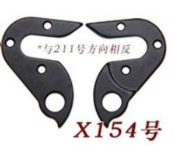 2 piezas de engranaje de bicicleta Mech Suspensión de cambio de marcha trasera con tornillos para DOLAN DYNATECK K2 STEVENS RALEIGH RIDLEY Mangosta