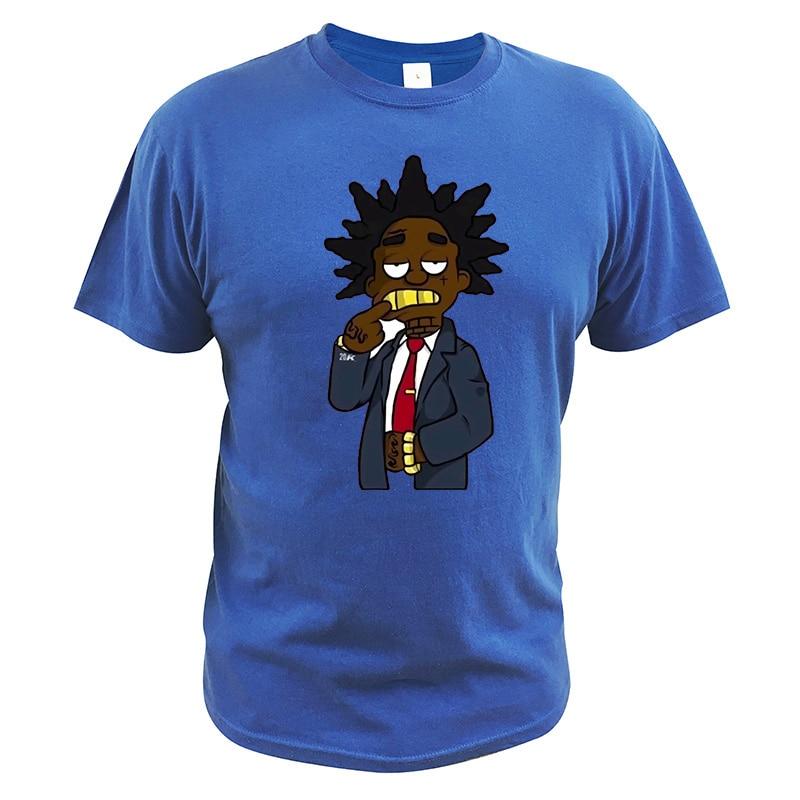 Kodak negro camiseta rapero Hip Pop Singer Geek camiseta Cool algodón tamaño asiático Casual transpirable Tops