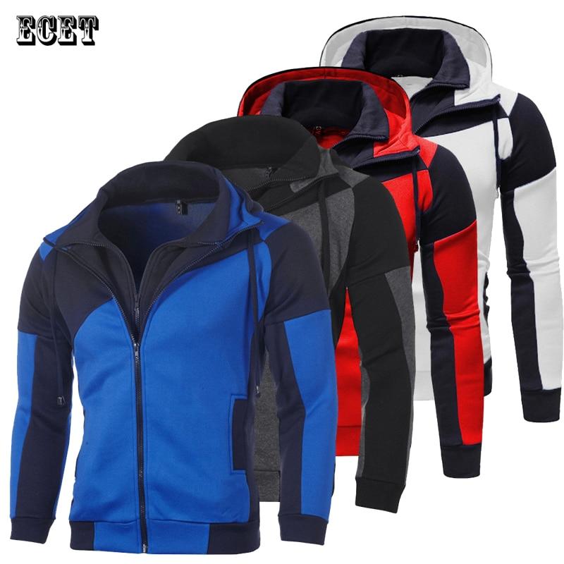 Уличная одежда, новая модная мужская куртка, повседневная толстовка на молнии, спортивная одежда для бега и фитнеса, брендовая мужская одеж...
