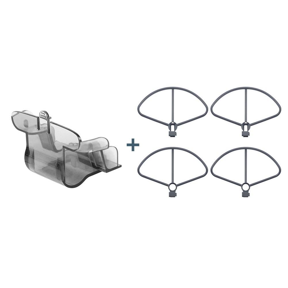 Couvercle dobjectif de caméra avec 4 pièces pièces dhélices pour FIMI gardes de rechange X8 SE Drone ND998