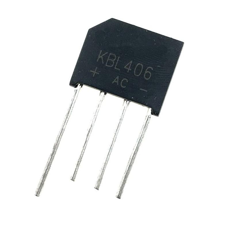 20pcs lot irfr320 fr320 20pcs/lot KBL406 Bridge rectifier  4A 600V DIP4