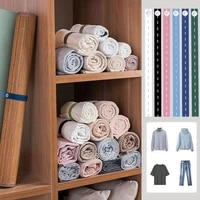 pull and roll clothes binding belt lazy self adhesive binding belt household folding clothes pants sweater storage elastic belt