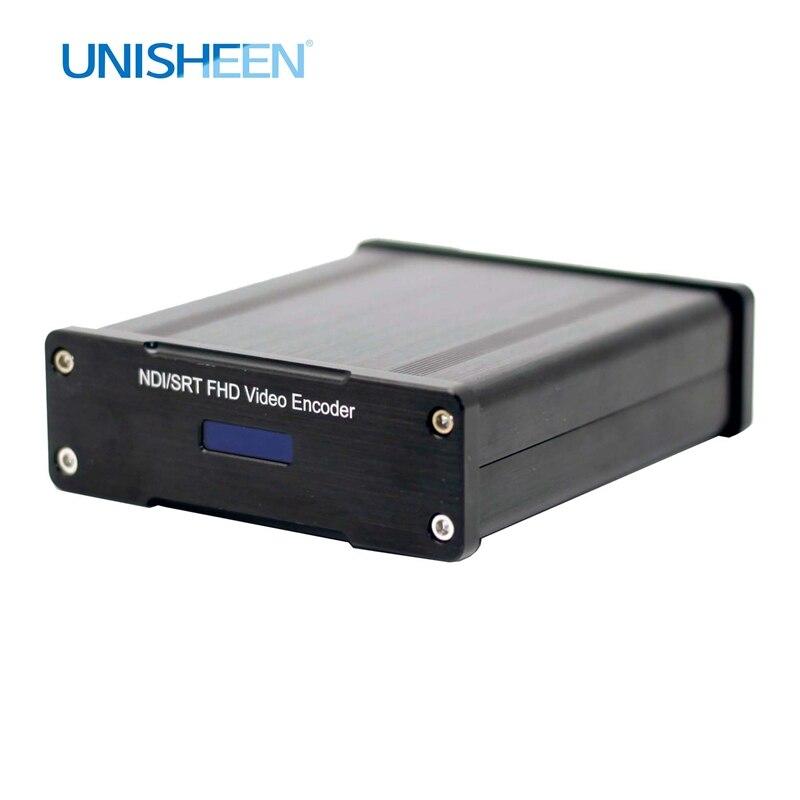 مشفر فيديو HDMI إلى NDI HX SRT مشفر فيديو Ip rtmp بث مباشر H.265 264 IPTV Youtube Facebook Wowza Onvif Obs Vmix Wirecast