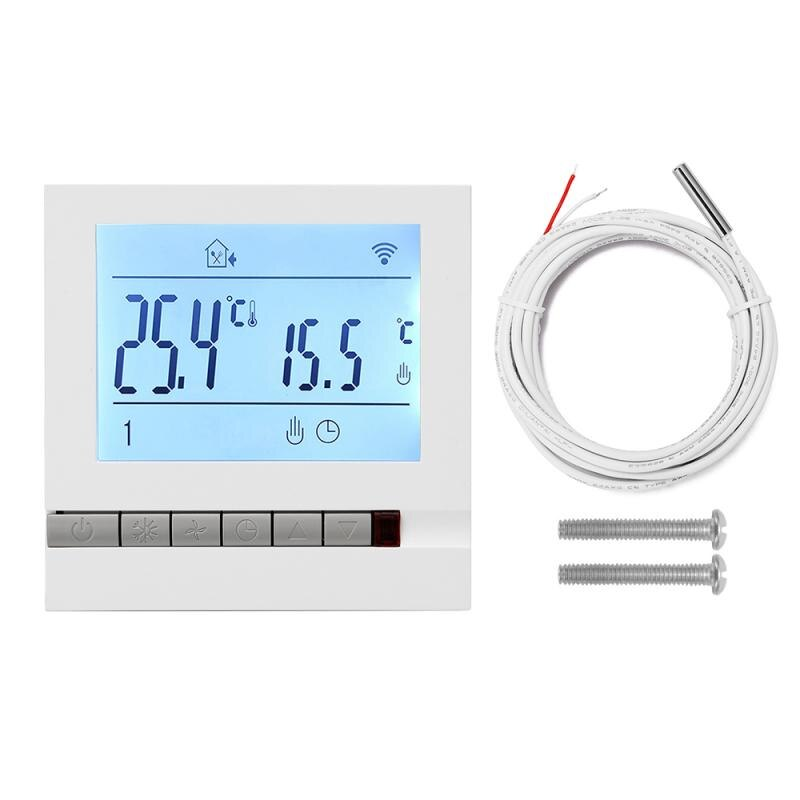 WiFi Smart Thermostat Temperature Controller Electric floor Heating Water Gas Boiler LCD Programmable Temperature Controller magnum programmable rev limiter ignition controller nipponia miro 130i