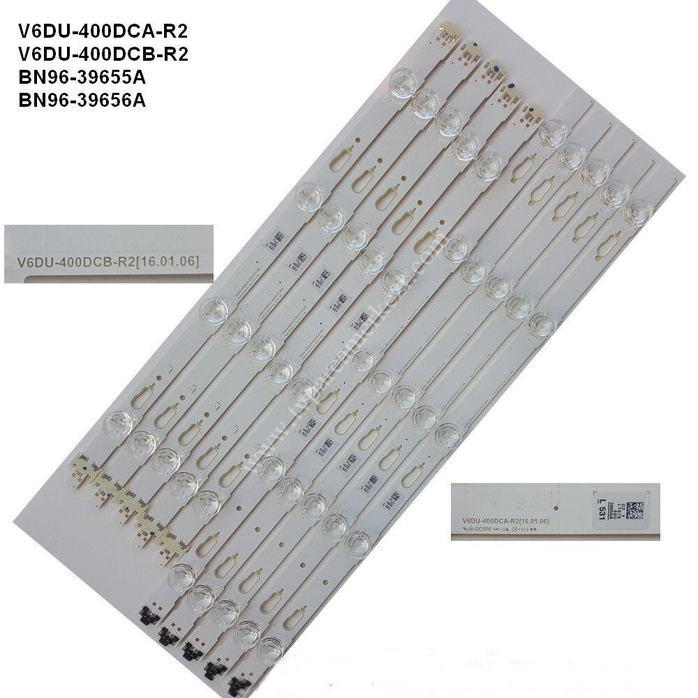 LED الخلفية قطاع V6DU-400DCA 400DCB-R2 BN96-39655A 39656A ل UE40KU6000KXXC UE40KU6000KXXU UE40KU6000KXZF UE40KU6000KXZT